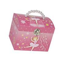 JewelKeeper Dancing Ballerina Music Jewelry Box with Pearl