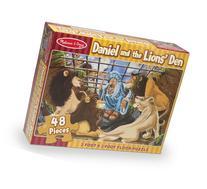 Melissa & Doug Daniel and the Lions' Den Jumbo Jigsaw Floor