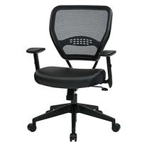 SPACE Seating Professional AirGrid Dark Back and Padded