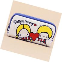 dark blue light cream Patty and Jimmy children pencil case