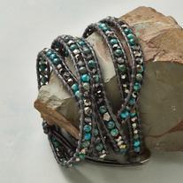 Chan Luu Dark Star 5-wrap Bracelet
