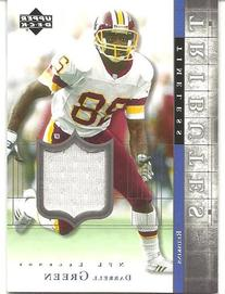 Darrell Green 2001 Upper Deck Legends Timeless Tributes