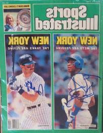 Darryl Strawberry & Don Mattingly autographed Sports