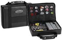Casemaster Pro 9 Dart Leatherette Storage/Travel Case, Black