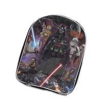 Disney Boys' Darth Vader, R2d2 and C3po Backpack, Black