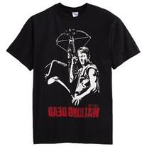 The Walking Dead Daryl Dixon Adult T-Shirt, Black, Medium