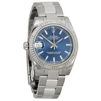 Rolex Datejust Lady 31 Blue Dial Stainless Steel Rolex