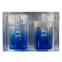 Deep Cool Water GIFT 2 pieces By Davidoff 3.4 oz EDT Spray,