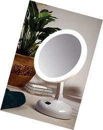 Floxite Daylight Cosmetic Mirror, 10 x Mag