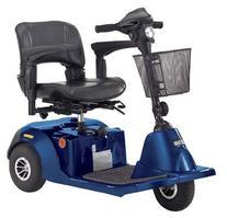 Drive Medical Daytona 3 GT Medium Sized 3 Wheel Scooter with