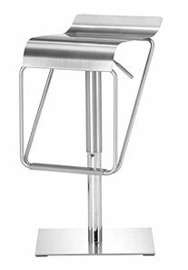 Zuo Dazzer Adjustable Height Steel Counter Stool