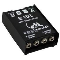 Rapco DB2 Stereo Passive Direct Box