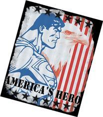 Licenses Products DC Comics Superman American Hero Sticker