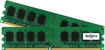Crucial 4GB Kit  DDR2 800MHz  CL6 Unbuffered UDIMM 240-Pin