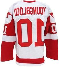 Dean Youngblood Custom Pro-Style Home Hockey Jersey Size M
