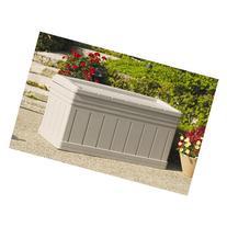 Suncast 129-Gallon Deck Box with Seat