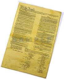 Declaration of Independence 23 X 29, Constitution of the U.S