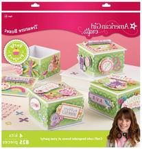 American Girl Crafts Decorated Treasure Box Party Activity