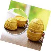 Decorative 2pc Egg Salt & Pepper Shaker Easter Decoration