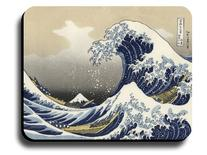 Decorative Mouse Pad Art Print Painting Hokusai The Great