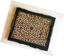 Handmade and Handcrafted Decorative Tray Or Large Ottoman