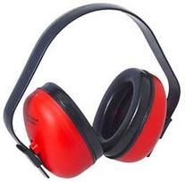 Radians Lightweight Def-Guard Earmuff Red