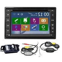 Car Autoradio 2 DIN Stereo In Dash GPS Navigation System CD