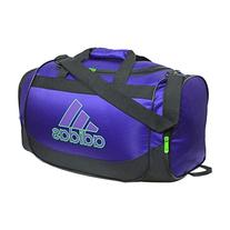 da4ced2188c1 Adidas Defender Duffel Bag Purple Green Black