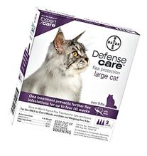 Bayer Defense Care Flea Protection for Large Cat - 3 Month