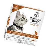 Bayer Defense Care Flea Protection for Small Cats & Kittens