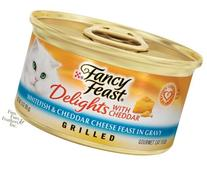 Fancy Feast Delights Grilled Whitefish & Cheddar Cheese