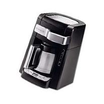 DeLONGHI 10-Cup Frontal Access Coffee Ma