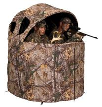Ameristep Deluxe 2 Person Tent Chair Hunting Blind, Realtree