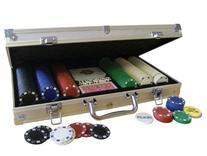 Deluxe Aluminum Case Tournament Poker 300 Chip Set