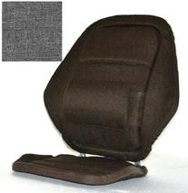 Deluxe Back Rest Finish: Grey