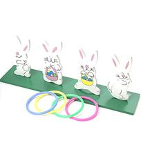 Deluxe Bunny Ring Toss Game