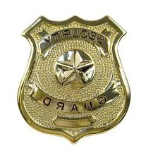 Rothco Security Guard Badge, Gold