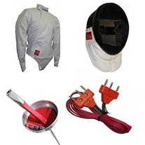 Deluxe 4 Piece Epee Electric Fencing Set
