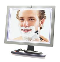 ToiletTree Products Deluxe LED Fogless Shower Mirror with