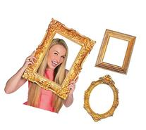 Deluxe Gold Picture Frame Cutouts