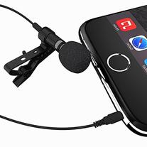Miracle Sound Deluxe Lavalier Lapel Clip-on Omnidirectional