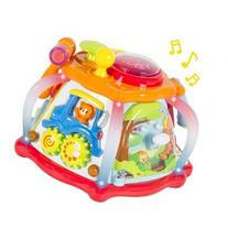 Deluxe Baby Musical Activity Cube Play Center with Lights,