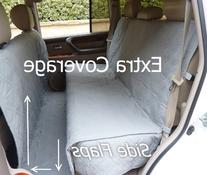 Deluxe Quilted and Padded seat cover with Non-Slip Fabric in