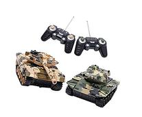Liberty Imports Deluxe RC Fighting Battle Tanks - Set of 2