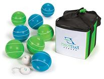 EastPoint Sports 110mm Deluxe Resin Bocce Set with Carry Bag