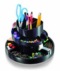 Officemate Deluxe Rotary Organizer, 16 Compartments,