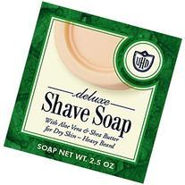 Van Der Hagen Deluxe Shave Soap, 2.5-Ounce Boxes
