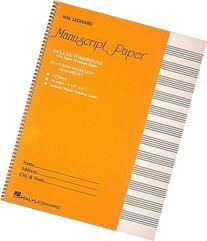 Deluxe Wirebound Super Premium Manuscript Paper 12 Stave