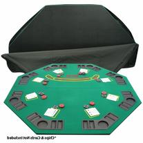 Trademark Poker Deluxe Solid Wood Poker and Blackjack Table