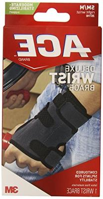 ACE Brand Deluxe Wrist Brace, America's Most Trusted Brand